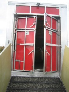 Bétaillière avec portes anti-retour